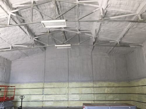commercial thermal barrier sprayfoam